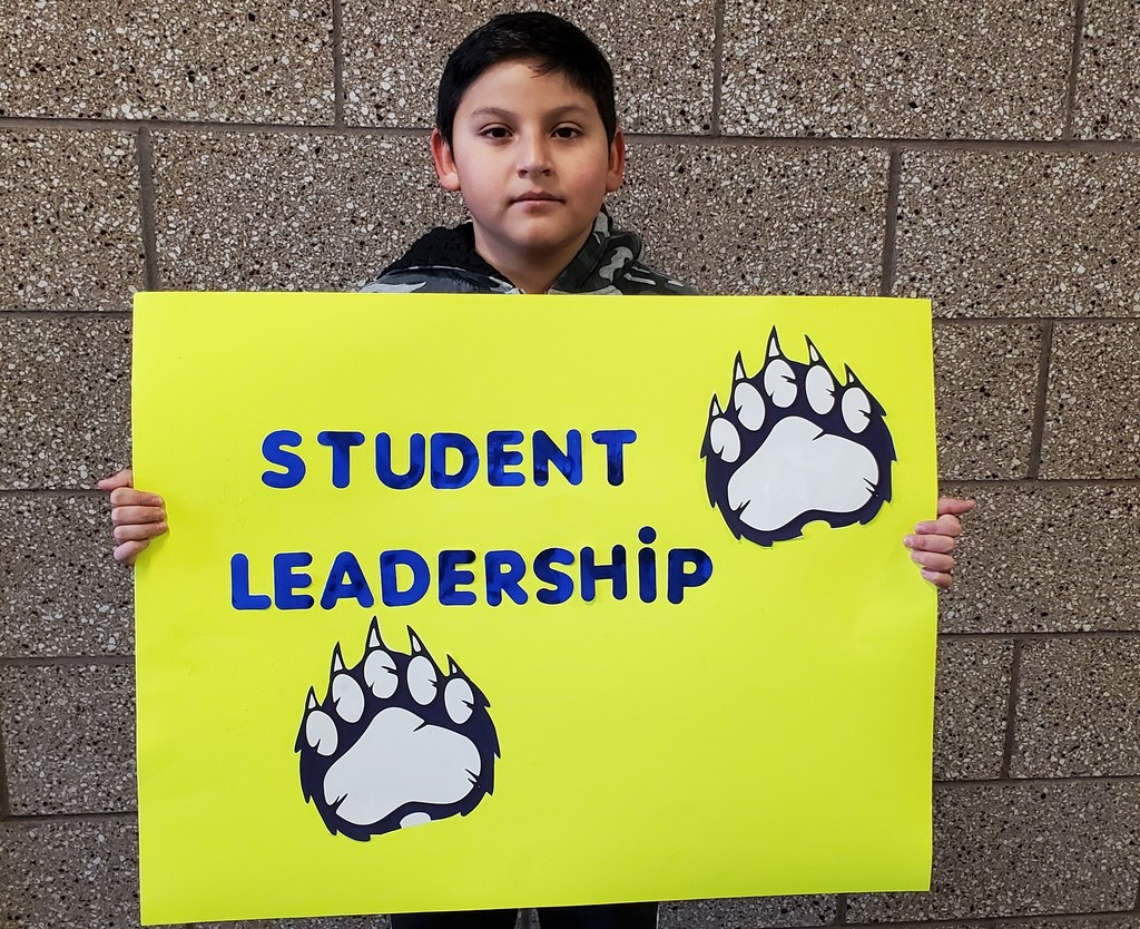 Student Leadership sign